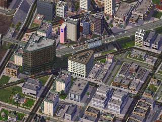 PCゲーム攻略シムシティ架空鉄道